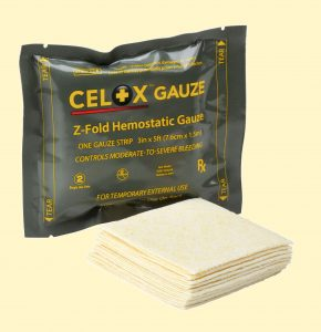 CELOX Gauze 5ft Rx Product 2016