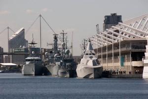 DSEI Excel London Naval Ships