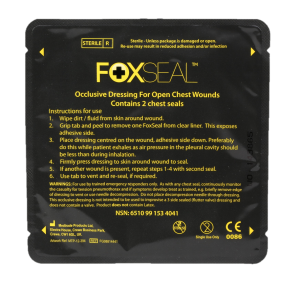 Foxseal Occulsive Chest Seals