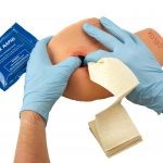 Celox Academy shoulder training kit Celox gauze packing