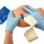 Celox Academy shoulder training kit Celox gauze packing