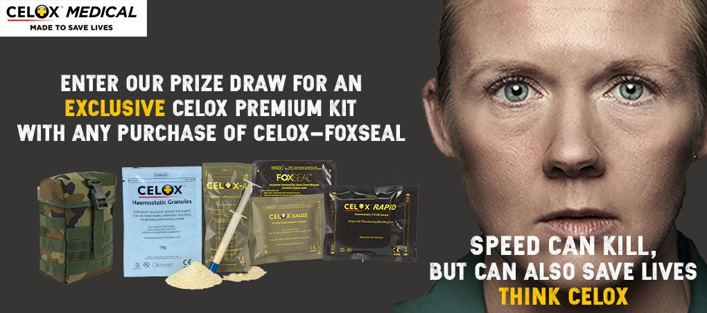 Exclusive Premium Celox Kit