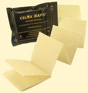 Haemostatic Dressing - Celox Rapid